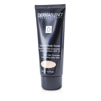 Leg & Body Cover Broad Spectrum SPF 15 (Full Coverage & Long Wearability)  100ml/3.4oz