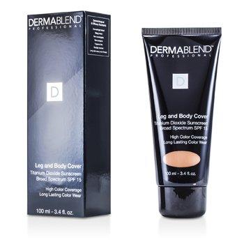 Dermablend Leg & Body Cover SPF 15 (Full Coverage & Long Wearability) - Toast  100ml/3.4oz