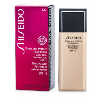 Shiseido Base Pura y Perfecta SPF 15 - # I20 Natural Light Ivory  30ml/1oz