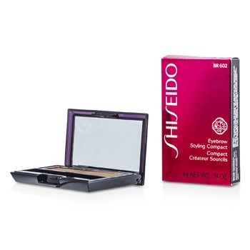 Shiseido Sombra Compacta Styling - # BR602 Medium Brown  4g/0.14oz