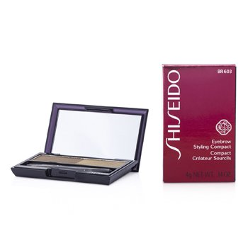 Shiseido Eyebrow Styling Compact - # BR603 Light Brown  4g/0.14oz