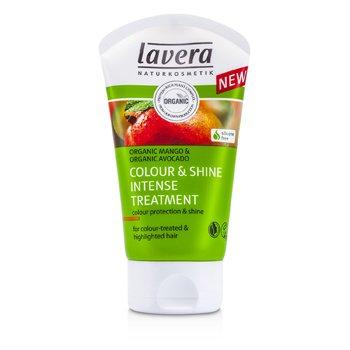 Lavera Organic Mango & Organic Avocado Colour & Shine Intense Treatment (For Colour-Treated & Highlighted Hair)  125ml/4.1oz