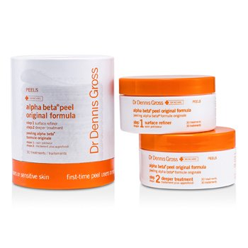 Dr Dennis Gross Alpha Beta Peel - Original Formula (For Sensitive Skin; Jar)  30 Treatments