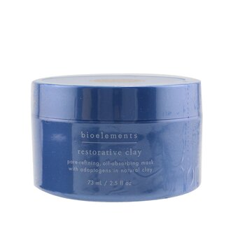 Bioelements Restorative Clay - Pore-Refining Facial Mask  73ml/2.5oz