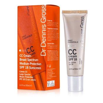 Dr Dennis Gross Daily Essentials CC Cream SPF 18 - Medium  30ml/1oz