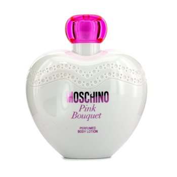 Moschino Pink Bouquet Perfumed Body Lotion - Losion Tubuh  200ml/6.7oz