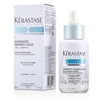 Kerastase Specifique Sensidote Dermo-Calm Intense Scalp Soothing Serum (Sensitive Scalp)  50ml/1.7oz