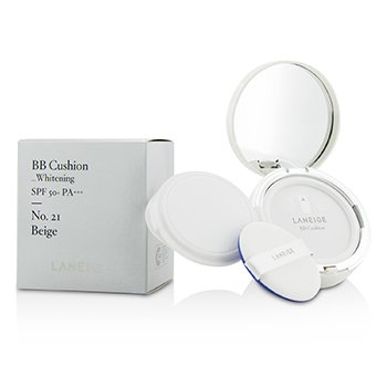 BB Cushion Foundation (Whitening) SPF 50 With Extra Refill  2x15g/0.5oz