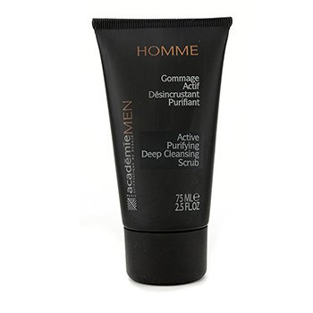 Academie Men Active Purifying Deep Cleansing Scrub  75ml/2.5oz