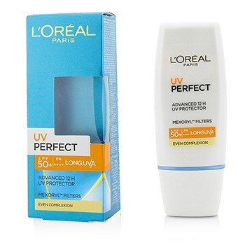 L'Oreal กันแดดปกป้องผิว Dermo-Expertise UV Perfect 12H LongLasting UVA/UVBSPF50+/PA+++ - #Even Complexion  30ml/1oz