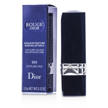 Christian Dior Rouge Dior Couture Colour Voluptuous Care - # 958 Sterling Red  3.5g/0.12oz