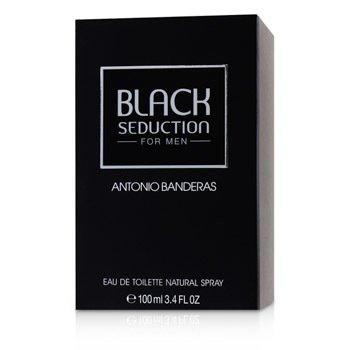 Seduction in Black (Black Seduction) Eau De Toilette Spray  100ml/3.4oz