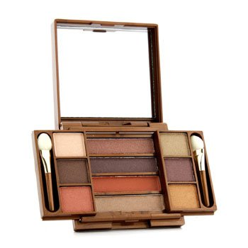 Fashion Fair Paleta cieni do powiek Multi Level 10 Colors Eye Shadow Compact - # 9857 (bez pudełka)  8.7g/0.306oz