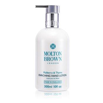 Molton Brown Mulberry & Thyme Loci�n de Manos Enriquecedora  300ml/10oz