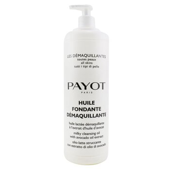 Payot Huile Fondante Demaquillante Milky Cleansing Oil - For All SKin Types (Salon Size)  1000ml/33.8oz