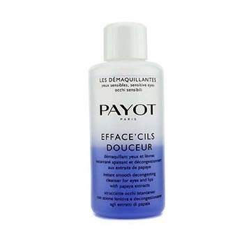 Payot Les Demaquillantes Efface' Cils Douceur Instant Smooth Decongesting Cleanser For Eyes & Lips (Salon Size)  200ml/6.7oz