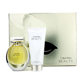 Calvin Klein Beauty Coffret: Eau De Parfum Spray 50ml/1.7oz + Loción Corporal Luminosa 100ml/3.4oz  2pcs