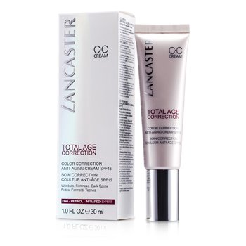 Lancaster Total Age Correction Crema Anti Envejecimiento Corrección de Color SPF15  30ml/1oz