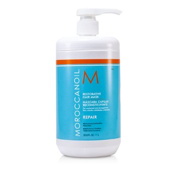 Restorative Hair Mask - For Weakened and Damaged Hair (Salon Product)  1000ml/33.8oz