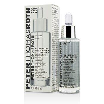 Oilless Oil 100% Purified Squalane Moisturizing Lightweight Skin Softener  30ml/1oz