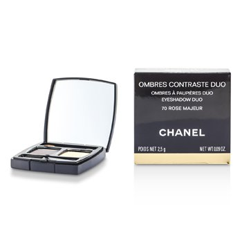 Chanel Cienie do powiek Ombres Contraste Duo - # 70 Rose Majeur  2.5g/0.09oz