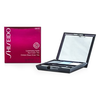 Shiseido Luminizing Satin Eye Color Trio - # GR412 Lido  3g/0.1oz