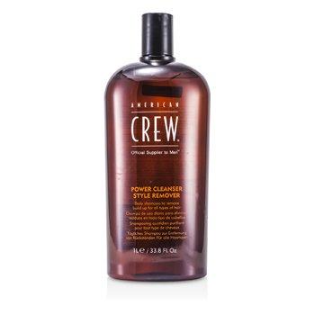 American Crew Shampoo Men Power Cleanser Style Remover Daily (Todos Tipos de Cabelos)  1000ml/33.8oz