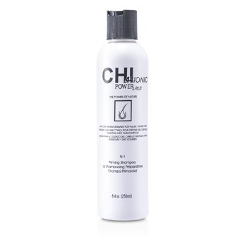 CHI CHI44 Ionic Power Plus N-1 Priming Shampoo (For Fuller, Thicker Hair)  248ml/8.4oz