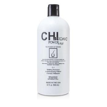 CHI CHI44 Ionic Power Plus C-1 Vitalizing Shampoo (For Fuller, Thicker Hair)  946ml/32oz
