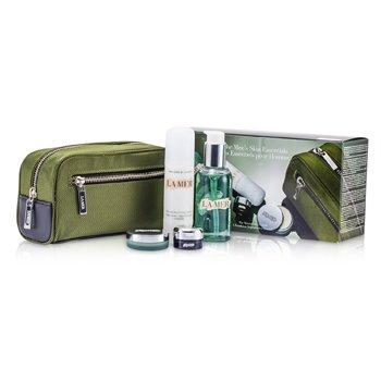 Essentials Set: Cleansing Gel 100ml + Moisturizing Lotion 50ml + Eye Concentrate 5ml + Lip Balm 9g + Bag  4pcs+1bag