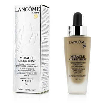 Lancome Miracle Air De Teint Perfecting Fluid SPF 15 - # 010 Beige Porcelaine  30ml/1oz