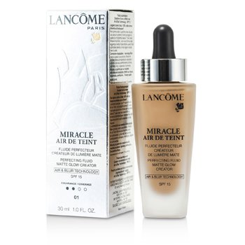 Lancome Miracle Air De Teint Perfecting Fluid SPF 15 - # 01 Beige Albatre  30ml/1oz