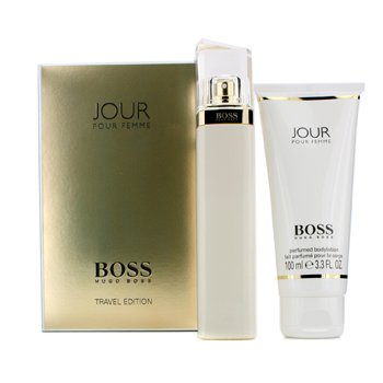 Boss Jour Travel Edition Coffret: Eau De Parfum Spray 75ml/2.5oz + Body Lotion 100ml/3.3oz  2pcs
