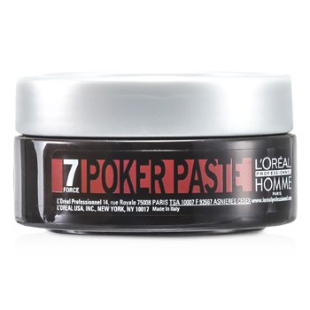 L'Oreal Professionnel Homme Poker Paste  75ml/2.5oz