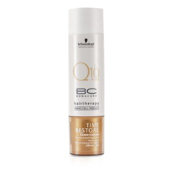 Schwarzkopf Condicionador BC Time Restore Q10 Plus (Cabelos Fragéis)  200ml/6.7oz
