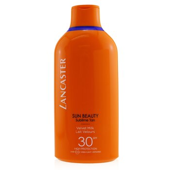 Lancaster Sun Beauty Velvet Tanning Milk SPF30  400ml/13.5oz
