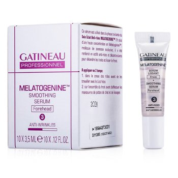 Gatineau Melatogenine Forehead سيرم منعم (حجم صالون)  10x3.5ml/0.12oz