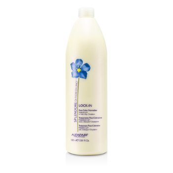 AlfaParf Splendore Di Fiori Di Lino Lock-In Normalizador Post-Color  1000ml/33.81oz