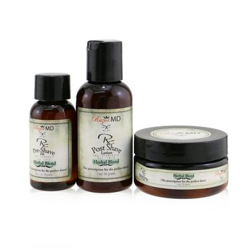RX שלישיית גילוח (תערובת צמחית): תחליב לאחר הגילוח 60 מ