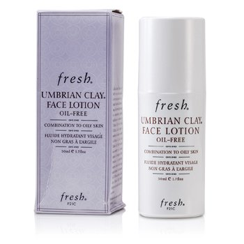 Fresh Umbrian Clay Oil-Free Face Lotion - For Combination to Oily Skin (Unboxed)  50ml/1.7oz