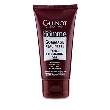 Guinot ტრეს მამაკაცის სახის ამქერცლავი გელი  75ml/2.5oz
