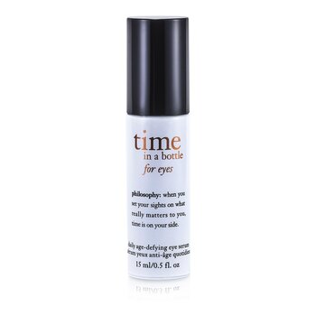 Time In A Bottle For Eyes (Daily Age-Defying Eye Serum)  15ml/0.5oz