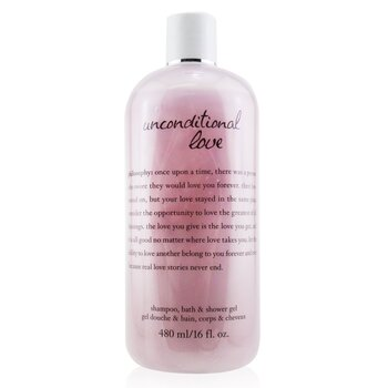 Philosophy Unconditional Love Shampoo, Bath & Shower Gel  480ml/16oz