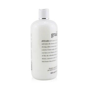 Pure Grace Shampoo, Bath & Shower Gel  480ml/16oz