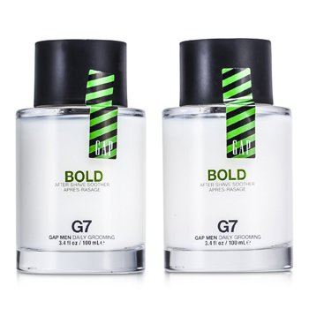 Gap Bold Camante Para Despu�s de Afeitar Duo Pack  2x100ml/3.4oz