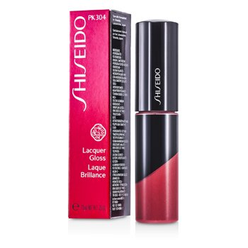 Shiseido Lacquer Gloss - # PK304 (Baby Doll)  7.5ml/0.25oz