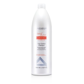 AlfaParf Semi Di Lino Discipline Frizz Control Shampoo (For Rebel Hair)  1000ml/33.82oz