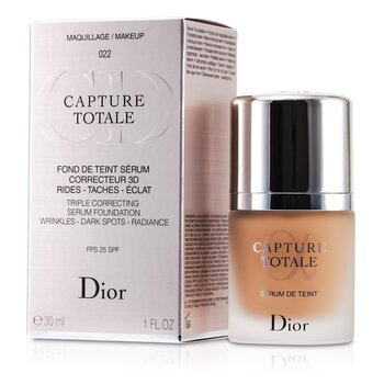 Christian Dior Capture Totale Suero Base Correctora Triple SPF25 - # 022 Cameo  30ml/1oz