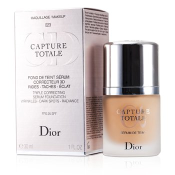 Christian Dior Capture Totale Suero Base Correctora Triple SPF25 - # 023 Peach  30ml/1oz