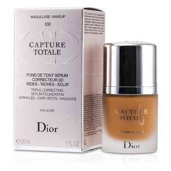 Christian Dior Capture Totale Üçlü Düzeltici Serum Fondöten SPF 25 - # 030 Orta Bej  30ml/1oz